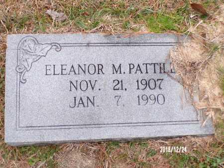 PATTILLO, ELEANOR M - Dallas County, Arkansas | ELEANOR M PATTILLO - Arkansas Gravestone Photos