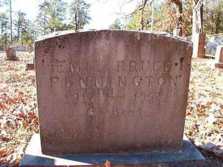 PENNINGTON, EMIL BRUCE - Dallas County, Arkansas | EMIL BRUCE PENNINGTON - Arkansas Gravestone Photos