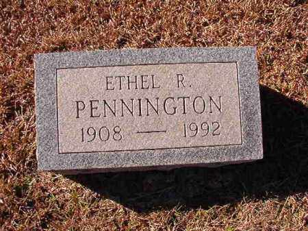 PENNINGTON, ETHEL R - Dallas County, Arkansas | ETHEL R PENNINGTON - Arkansas Gravestone Photos