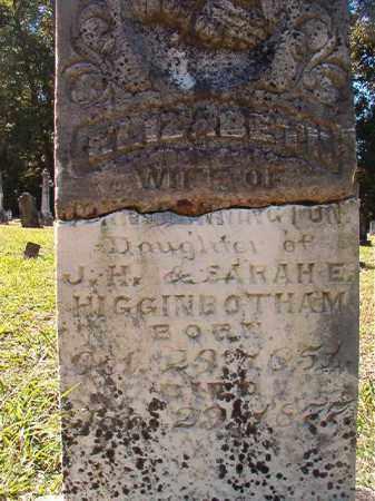 PENNINGTON, ELIZABETH - Dallas County, Arkansas | ELIZABETH PENNINGTON - Arkansas Gravestone Photos