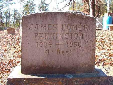 PENNINGTON, JAMES HOMER - Dallas County, Arkansas   JAMES HOMER PENNINGTON - Arkansas Gravestone Photos