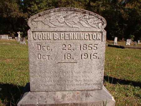 PENNINGTON, JOHN B. - Dallas County, Arkansas | JOHN B. PENNINGTON - Arkansas Gravestone Photos