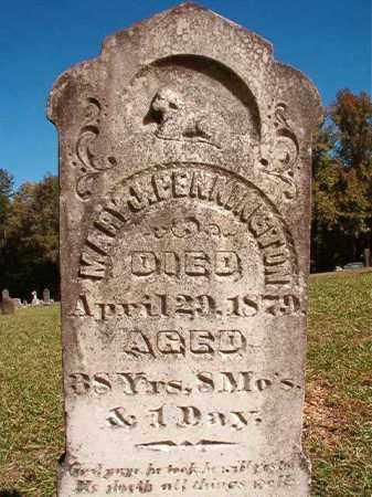 PENNINGTON, MARY J - Dallas County, Arkansas   MARY J PENNINGTON - Arkansas Gravestone Photos