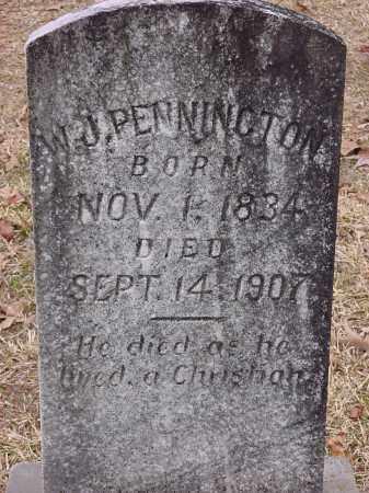 PENNINGTON, W. J. - Dallas County, Arkansas | W. J. PENNINGTON - Arkansas Gravestone Photos