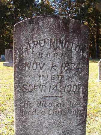 PENNINGTON, W J - Dallas County, Arkansas | W J PENNINGTON - Arkansas Gravestone Photos