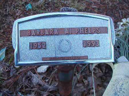 PHELPS, BARBARA A - Dallas County, Arkansas | BARBARA A PHELPS - Arkansas Gravestone Photos