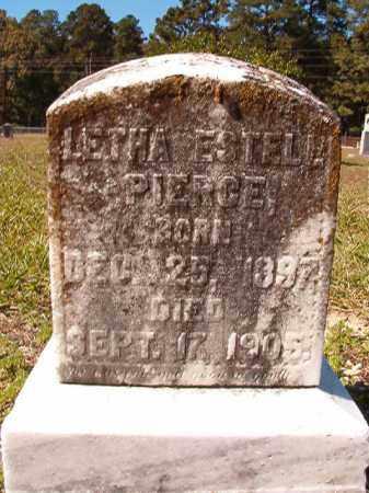 PIERCE, LETHA ESTELL - Dallas County, Arkansas | LETHA ESTELL PIERCE - Arkansas Gravestone Photos