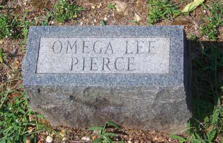 PIERCE, OMEGA LEE - Dallas County, Arkansas | OMEGA LEE PIERCE - Arkansas Gravestone Photos