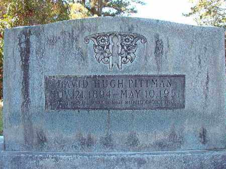 PITTMAN, DAVID HUGH - Dallas County, Arkansas | DAVID HUGH PITTMAN - Arkansas Gravestone Photos