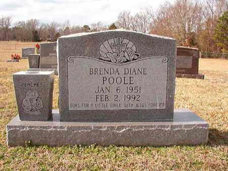 POOLE, BRENDA DIANE - Dallas County, Arkansas | BRENDA DIANE POOLE - Arkansas Gravestone Photos