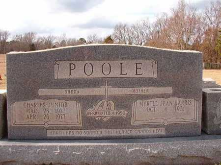 POOLE, JR, CHARLES - Dallas County, Arkansas | CHARLES POOLE, JR - Arkansas Gravestone Photos