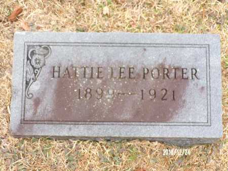 PORTER, HATTIE LEE - Dallas County, Arkansas | HATTIE LEE PORTER - Arkansas Gravestone Photos