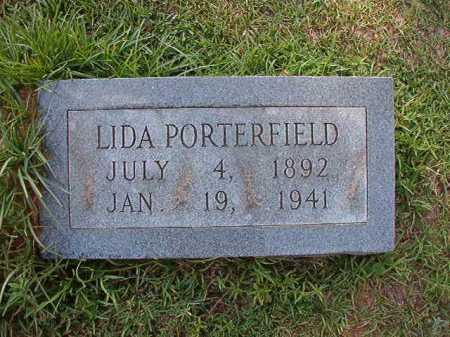 PORTERFIELD, LIDA - Dallas County, Arkansas | LIDA PORTERFIELD - Arkansas Gravestone Photos