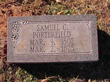 PORTERFIELD, SAMUEL C - Dallas County, Arkansas | SAMUEL C PORTERFIELD - Arkansas Gravestone Photos