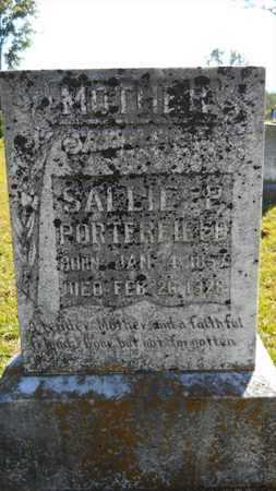 PORTERFIELD, SALLIE P - Dallas County, Arkansas | SALLIE P PORTERFIELD - Arkansas Gravestone Photos