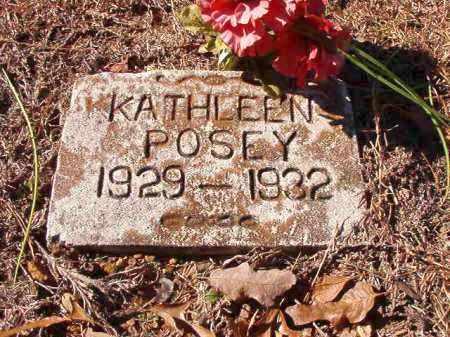 POSEY, KATHLEEN - Dallas County, Arkansas   KATHLEEN POSEY - Arkansas Gravestone Photos