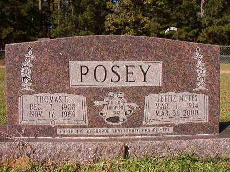 MOTES POSEY, JETTIE - Dallas County, Arkansas | JETTIE MOTES POSEY - Arkansas Gravestone Photos