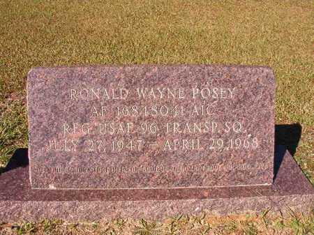 POSEY (VETERAN), RONALD WAYNE - Dallas County, Arkansas   RONALD WAYNE POSEY (VETERAN) - Arkansas Gravestone Photos