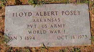 POSEY (VETERAN WWI), FLOYD ALBERT - Dallas County, Arkansas | FLOYD ALBERT POSEY (VETERAN WWI) - Arkansas Gravestone Photos