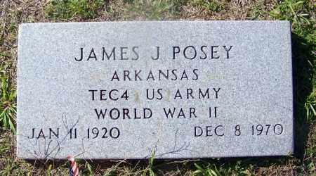POSEY (VETERAN WWII), JAMES J - Dallas County, Arkansas | JAMES J POSEY (VETERAN WWII) - Arkansas Gravestone Photos