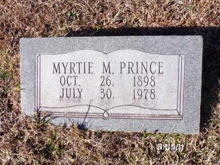 PRINCE, MYRTIE M - Dallas County, Arkansas   MYRTIE M PRINCE - Arkansas Gravestone Photos