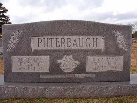 PUTERBAUGH, JUDY ALMA - Dallas County, Arkansas | JUDY ALMA PUTERBAUGH - Arkansas Gravestone Photos
