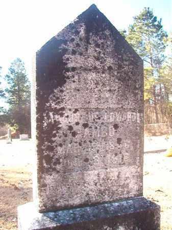 RAMBO, AUGUSTUS EDWARD - Dallas County, Arkansas | AUGUSTUS EDWARD RAMBO - Arkansas Gravestone Photos