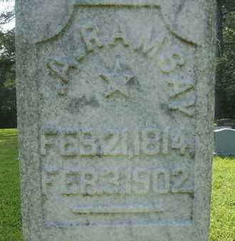 RAMSAY, A (CLOSEUP) - Dallas County, Arkansas | A (CLOSEUP) RAMSAY - Arkansas Gravestone Photos