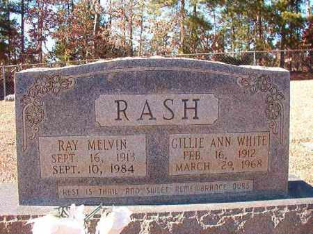 WHITE RASH, GILLIE ANN - Dallas County, Arkansas | GILLIE ANN WHITE RASH - Arkansas Gravestone Photos