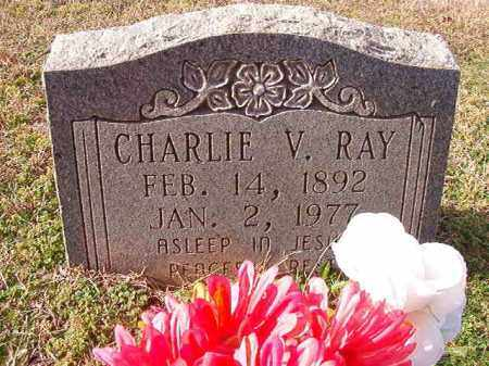 RAY, CHARLIE V - Dallas County, Arkansas | CHARLIE V RAY - Arkansas Gravestone Photos