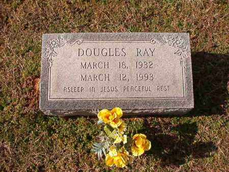 RAY, DOUGLES - Dallas County, Arkansas   DOUGLES RAY - Arkansas Gravestone Photos