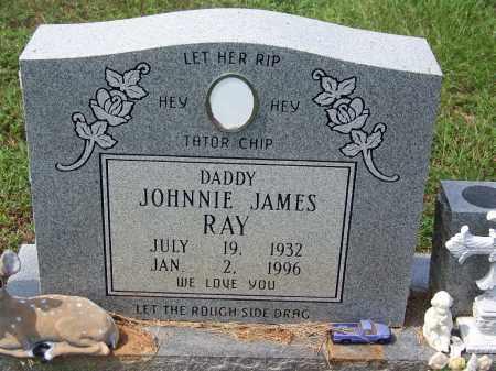 RAY, JOHNNIE JAMES - Dallas County, Arkansas | JOHNNIE JAMES RAY - Arkansas Gravestone Photos