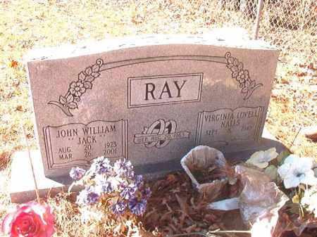 """RAY, JOHN WILLIAM """"JACK"""" - Dallas County, Arkansas   JOHN WILLIAM """"JACK"""" RAY - Arkansas Gravestone Photos"""