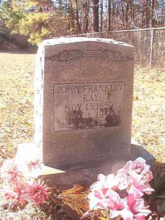 RAY, JOHN FRANKLIN - Dallas County, Arkansas | JOHN FRANKLIN RAY - Arkansas Gravestone Photos