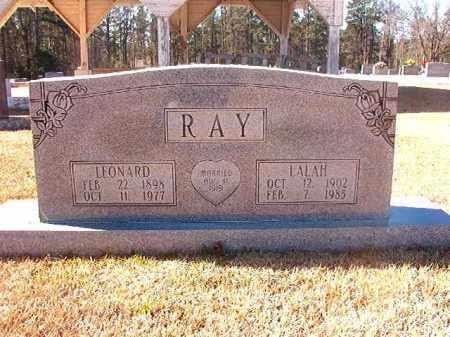 RAY, LEONARD - Dallas County, Arkansas | LEONARD RAY - Arkansas Gravestone Photos