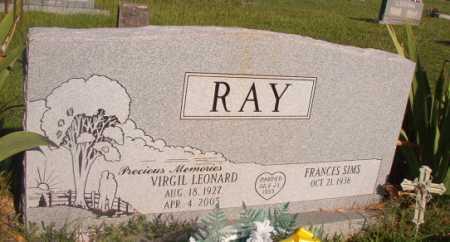 RAY, VIRGIL LEONARD - Dallas County, Arkansas | VIRGIL LEONARD RAY - Arkansas Gravestone Photos