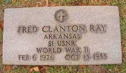 RAY (VETERAN WWII), FRED CLANTON - Dallas County, Arkansas | FRED CLANTON RAY (VETERAN WWII) - Arkansas Gravestone Photos