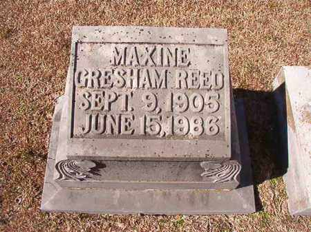 REED, MAXINE - Dallas County, Arkansas | MAXINE REED - Arkansas Gravestone Photos