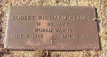 REEDER (VETERAN WWII), ROBERT RICHARD - Dallas County, Arkansas   ROBERT RICHARD REEDER (VETERAN WWII) - Arkansas Gravestone Photos