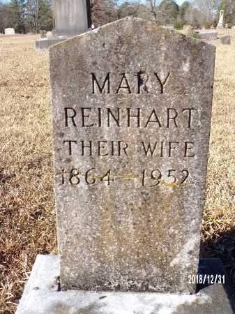 REINHART, MARY - Dallas County, Arkansas   MARY REINHART - Arkansas Gravestone Photos