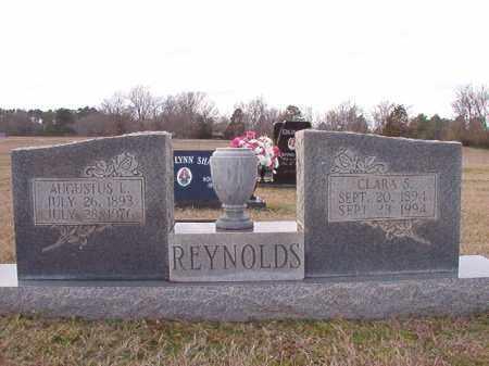 REYNOLDS, CLARA S - Dallas County, Arkansas | CLARA S REYNOLDS - Arkansas Gravestone Photos