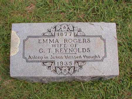 ROGERS REYNOLDS, EMMA - Dallas County, Arkansas | EMMA ROGERS REYNOLDS - Arkansas Gravestone Photos