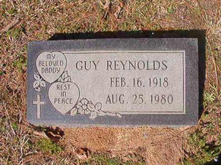 REYNOLDS, GUY - Dallas County, Arkansas   GUY REYNOLDS - Arkansas Gravestone Photos