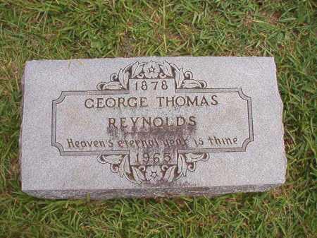 REYNOLDS, GEORGE THOMAS - Dallas County, Arkansas | GEORGE THOMAS REYNOLDS - Arkansas Gravestone Photos
