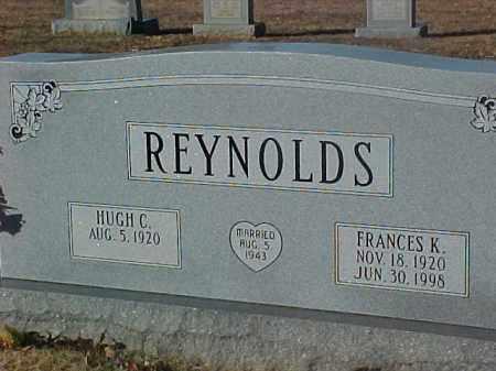 REYNOLDS, FRANCES K. - Dallas County, Arkansas   FRANCES K. REYNOLDS - Arkansas Gravestone Photos
