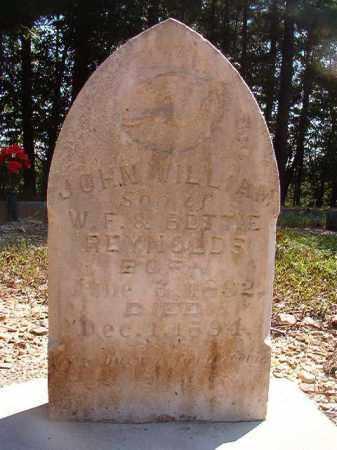 REYNOLDS, JOHN WILLIAM - Dallas County, Arkansas | JOHN WILLIAM REYNOLDS - Arkansas Gravestone Photos