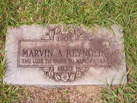 REYNOLDS, MARVIN A - Dallas County, Arkansas | MARVIN A REYNOLDS - Arkansas Gravestone Photos