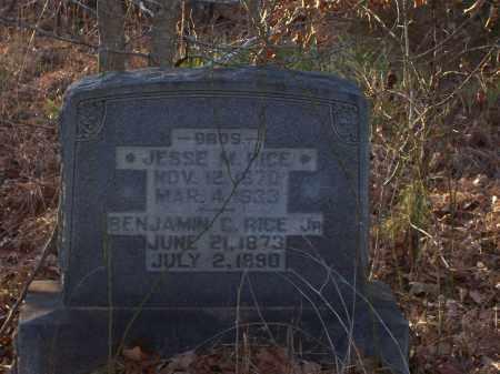 RICE, BENJAMIN C. JR. - Dallas County, Arkansas | BENJAMIN C. JR. RICE - Arkansas Gravestone Photos