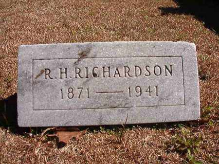 RICHARDSON, R H - Dallas County, Arkansas | R H RICHARDSON - Arkansas Gravestone Photos