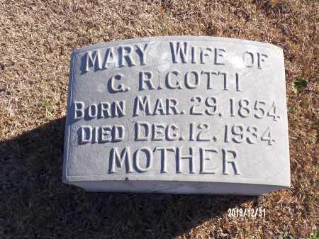 RIGOTTI, MARY - Dallas County, Arkansas | MARY RIGOTTI - Arkansas Gravestone Photos